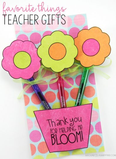 Teacher Gift Idea With Every Teacher's Favorite Thing