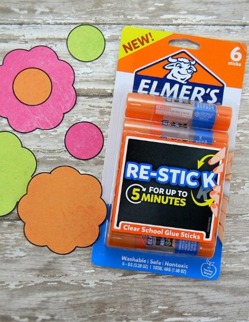Favorite Things Teacher Gift-Re-Stick glue sticks are the best!