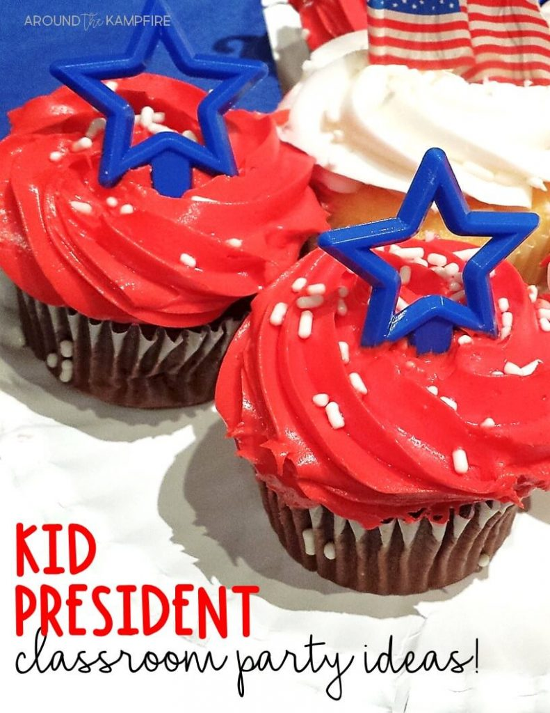 Teaching with Kid President Videos- Ideas for throwing a Kid President party in your classroom