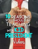 Do you use Kid President videos in your classroom? If you're not already using them check out these 10 Reasons You Should Be Teaching with Kid President Videos! The opportunities for teaching language, writing, kindness and fostering friendship are endless. Be sure to down load the freebie in the post too.