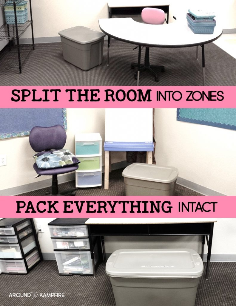 10 Tips for Packing Up Your Classroom- Smart ideas for end of the year classroom organization and packing that will make set up next year so much easier!