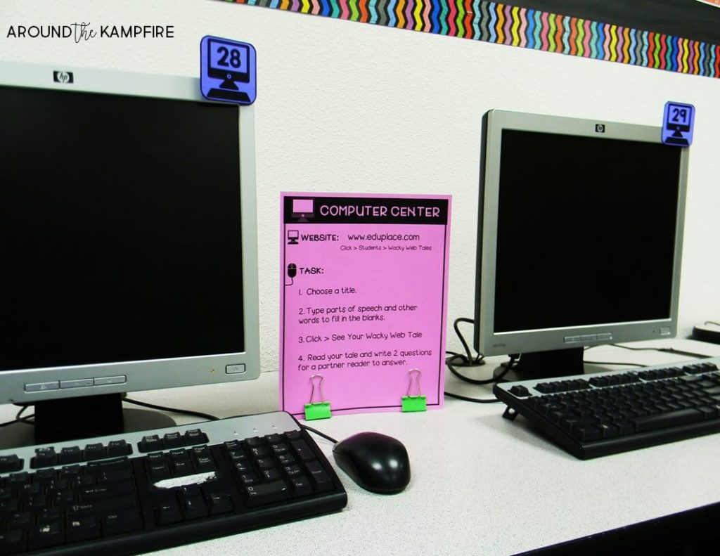 Smart computer lab management tips for checkouts, logins, rules and procedures, behavior management, and classroom organization. Plus functional decor ideas to help you manage your computer lab like a boss! A good read for technology teachers and classroom teachers who use a computer lab.