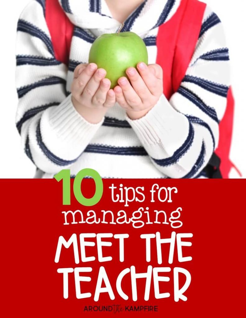 10 Tips for Managing Meet the Teacher like a pro!