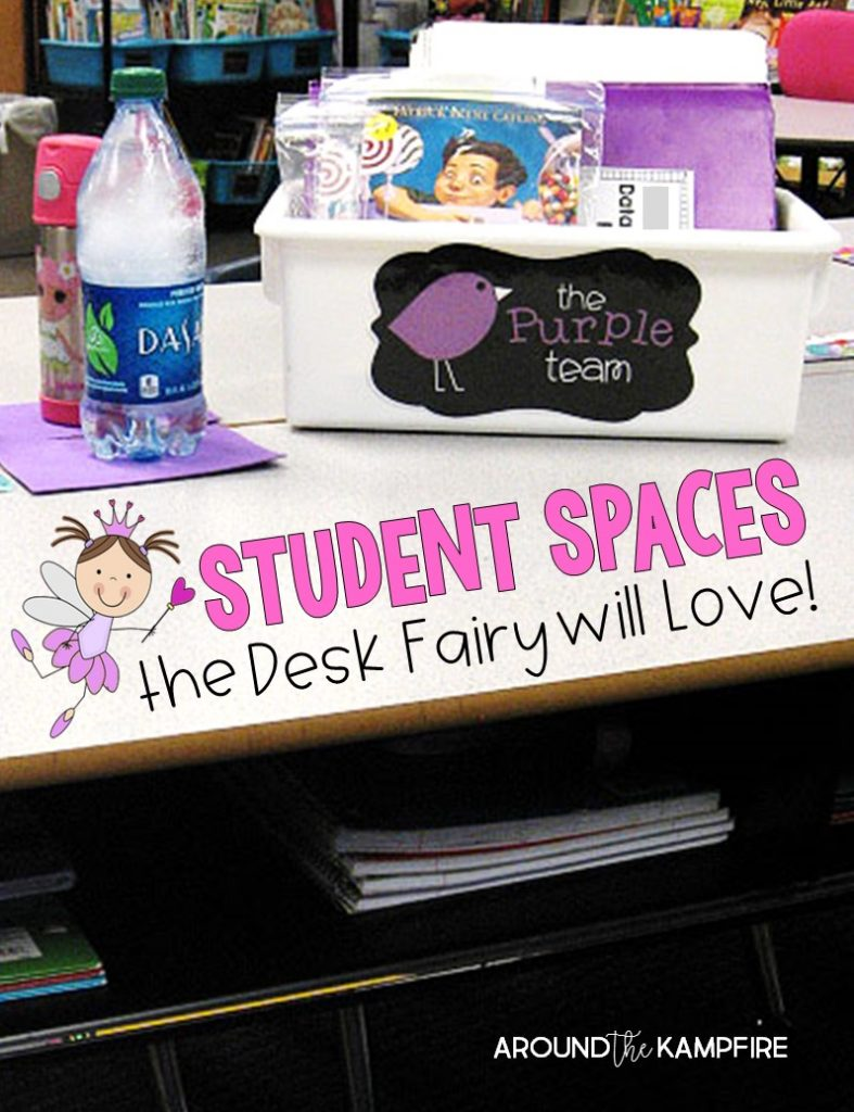 Classroom management tips for teaching students to stay organized and some tricks that help them do it!