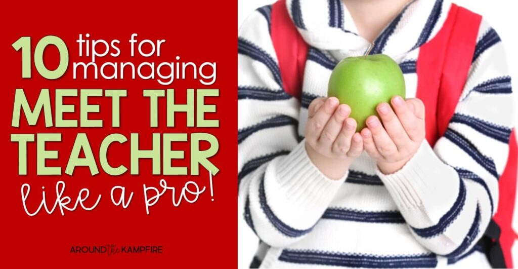 Tips for managing meet the teacher night.