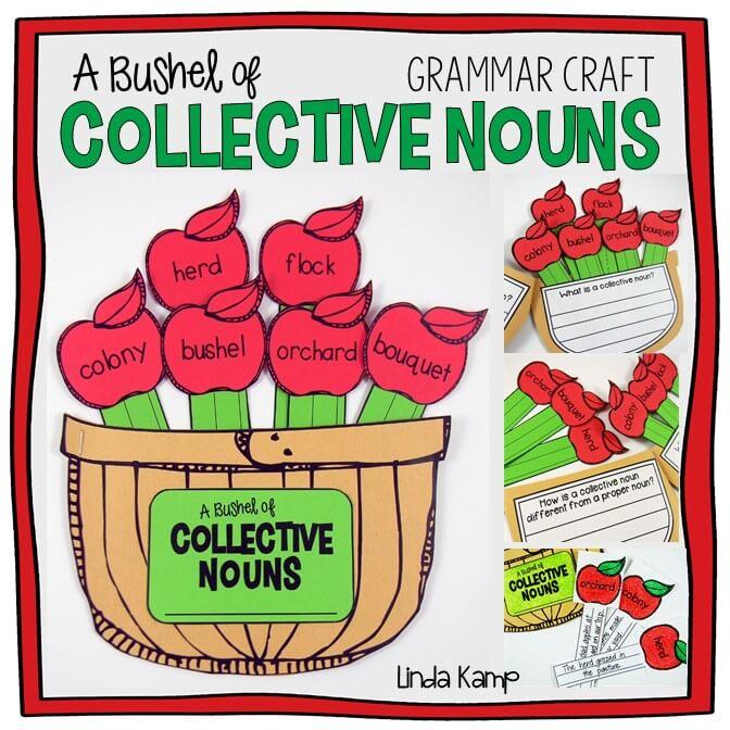 Collective Nouns Grammar Craft