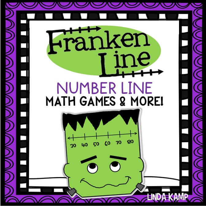 Halloween Math Centers for 2nd and 3rd grade