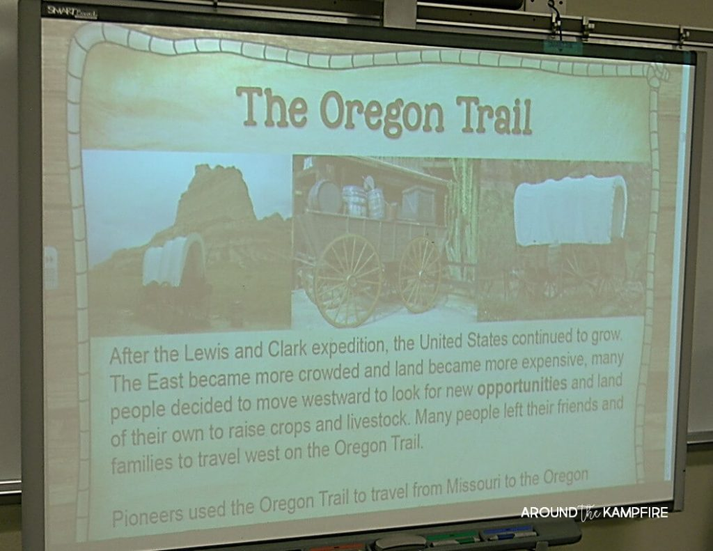 10 Ways to Teach Westward Expansion During your Literacy Block. Learning about The Oregon Trail