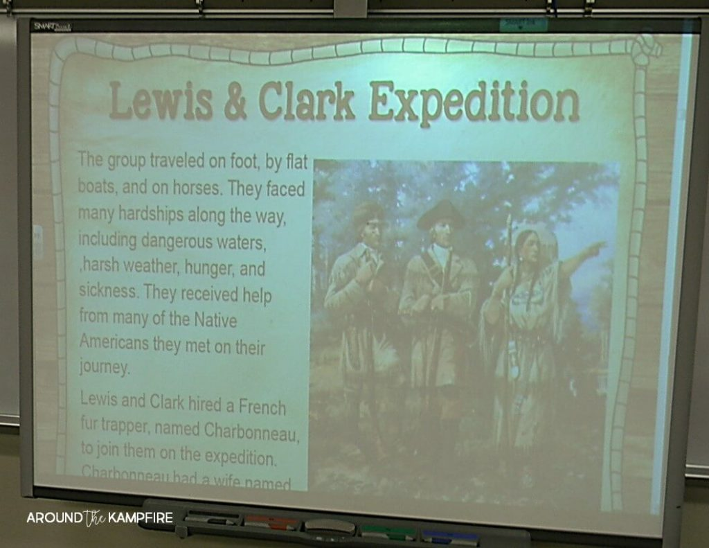 10 Ways to Teach Westward Expansion During your Literacy Block. Learning about the Lewis and Clark expedition.