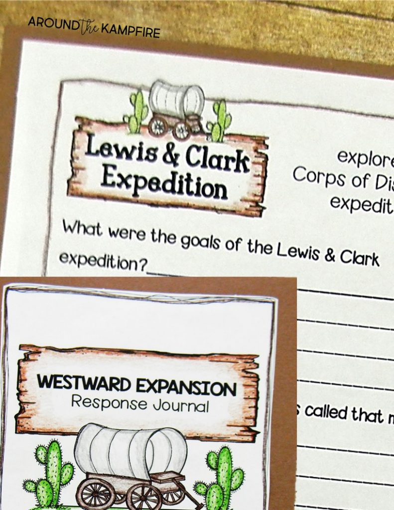 10 Ways to Teach Westward Expansion during your literacy block. Hands-on ideas for 2nd, 3rd, and 4th graders to use social studies content to practice literacy skills.
