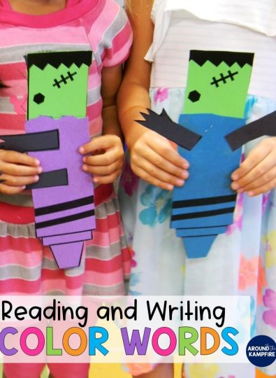 Reading and Writing Color Words
