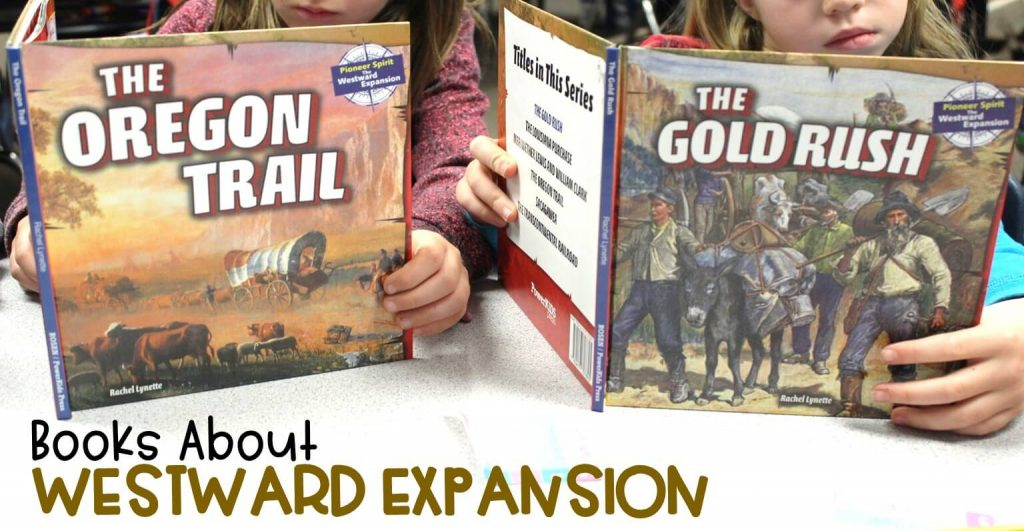 I've looked for years but have finally found informational books about Westward Expansion in a second and third grade reading level!