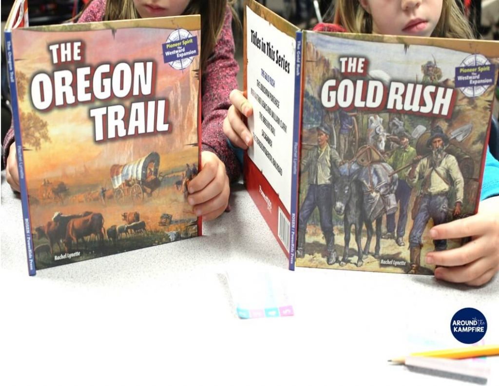 Books about Westward Expansion in a 2nd and 3rd grade reading level.