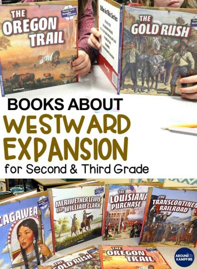 Westward Expansion Books for 2nd and 3rd Grade