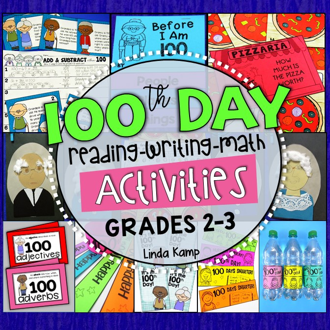 100th Day of School Activities 2nd 3rd Grade