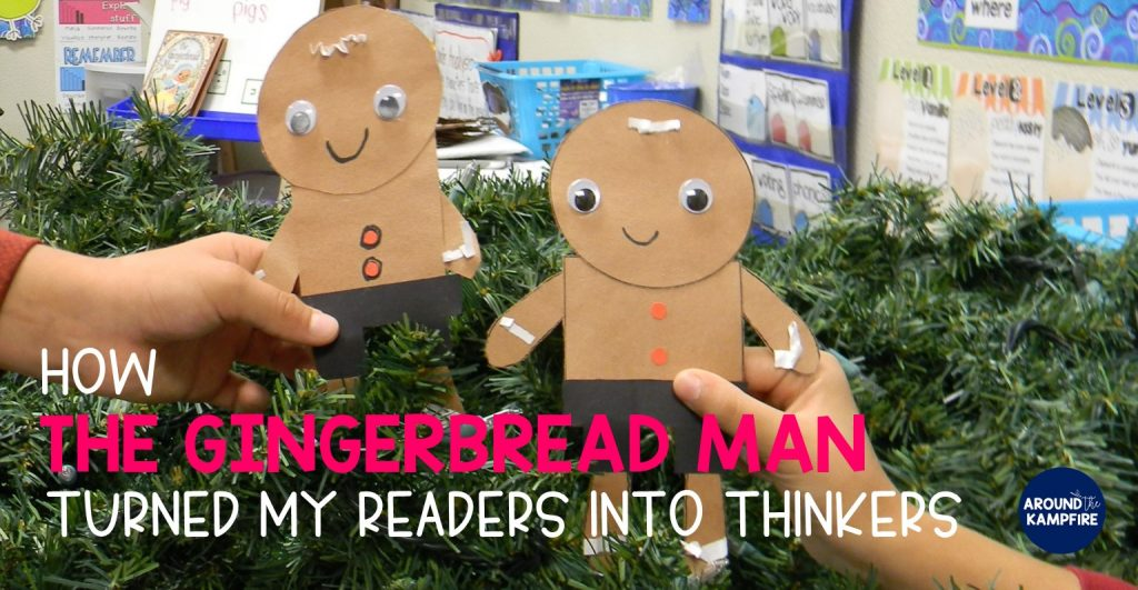 Comparing versions of The Gingerbread Man to turn readers Into thinkers