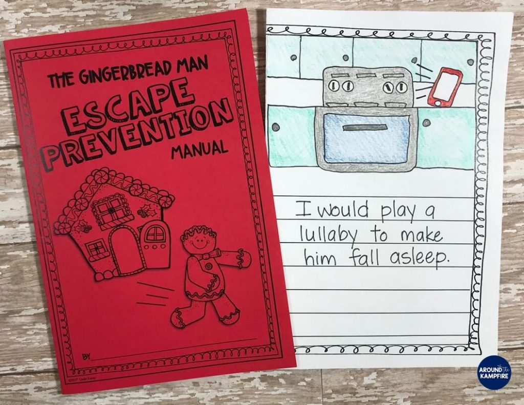 Lots of fun lesson ideas and anchor charts for first and second graders using versions of The Gingerbread Man. This post has gingerbread activities for 1st and 2nd grade with free printable story elements charts.