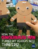 Comparing favorite versions of The Gingerbread Man: Turning readers into thinkers! Close reading lesson ideas and anchor charts for first and second graders using versions of The Gingerbread Man will help. This post has lots of gingerbread activities for 1st and 2nd with free printable story elements charts.