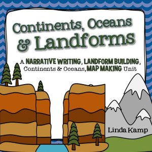 Landforms teaching activities-Complete unit for Grades 1-3
