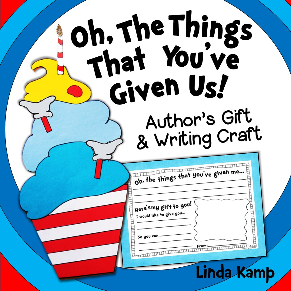 Read Across america writing craft