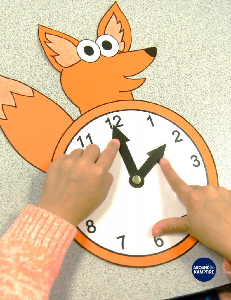 "Fun hands-on telling time activities and ideas for first, second, and even third grade teachers using ""What does the CLOCK say?"