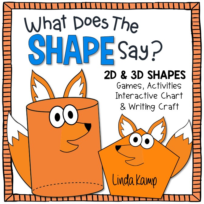 2D & 3D Shapes Activities