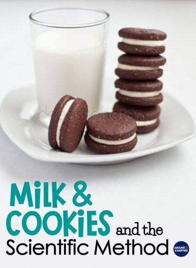 A simple and fun science experiment using milk and cookies to explore buoyancy. Learn the perfect activities for teaching the scientific method in a way that kids love! Ideal for 2nd and 3rd grade science.