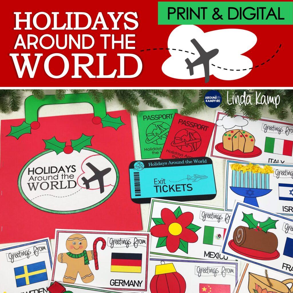 Holidays Around the World teaching unit