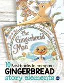 Best books for comparing versions of The Gingerbread Man with a list of teaching ideas and reading activities for each book. A perfect addition to December reading lessons or for teaching a fairy tales unit in 1st, 2nd, or 3rd grade.