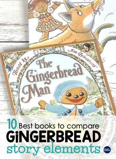 10 Best Books for Comparing Gingerbread Stories & Teaching Ideas to Use With Them