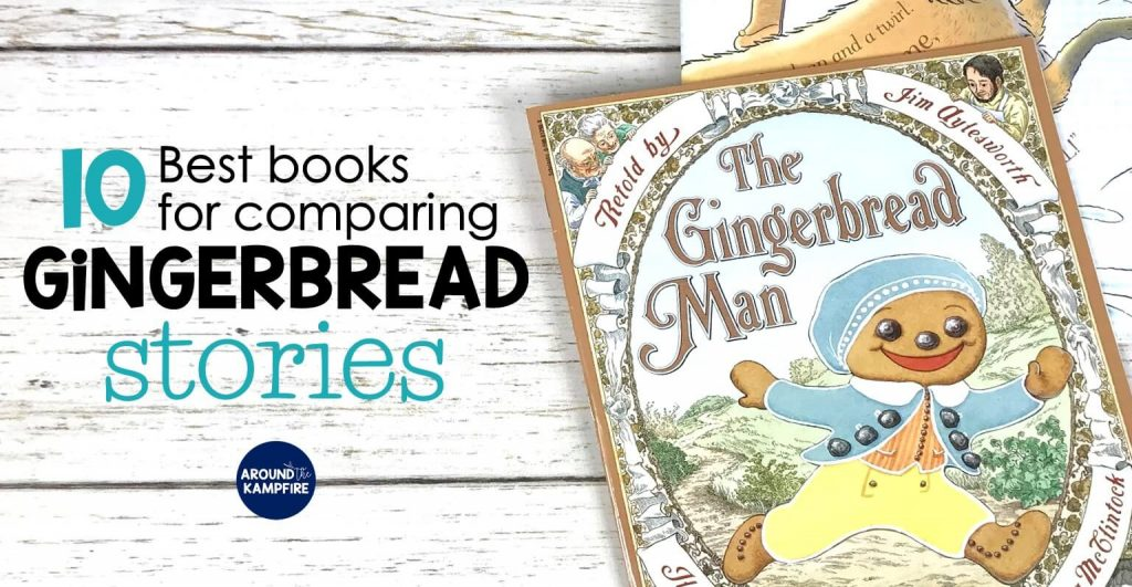 Best books for comparing versions of The Gingerbread Man