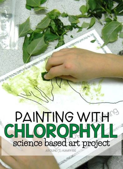 Chlorophyll paintings for kids are a great way to integrate art into your plant science activities as students learn about photosynthesis and the life cycle of plants.