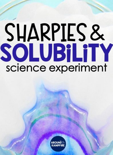 Sharpie Solubility Experiment for Kids