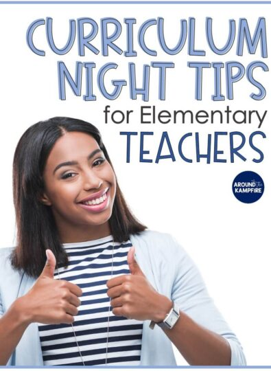 Curriculum Night Tips for Elementary Teachers with FREE Checklist