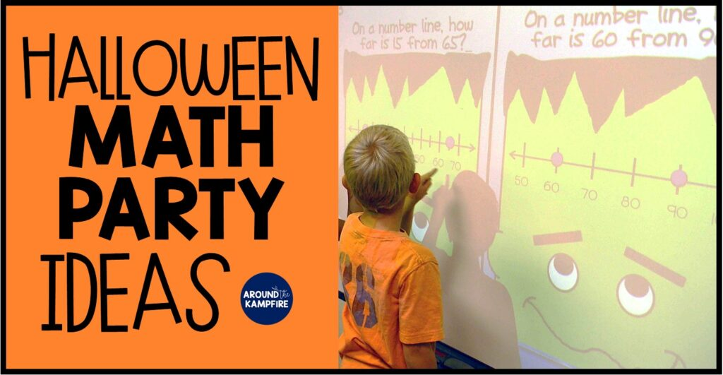 Halloween math party ideas