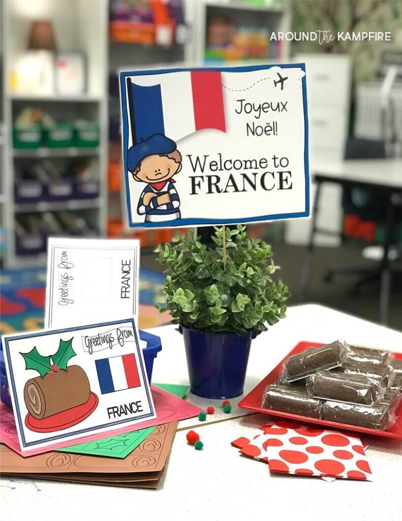 Holidays around the world classroom party stationideas.