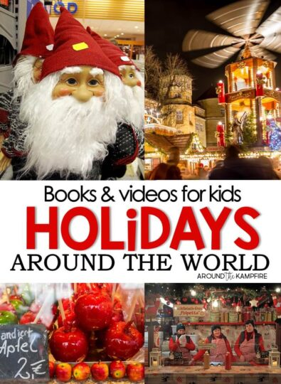 Christmas holidays around the world books and videos for kids