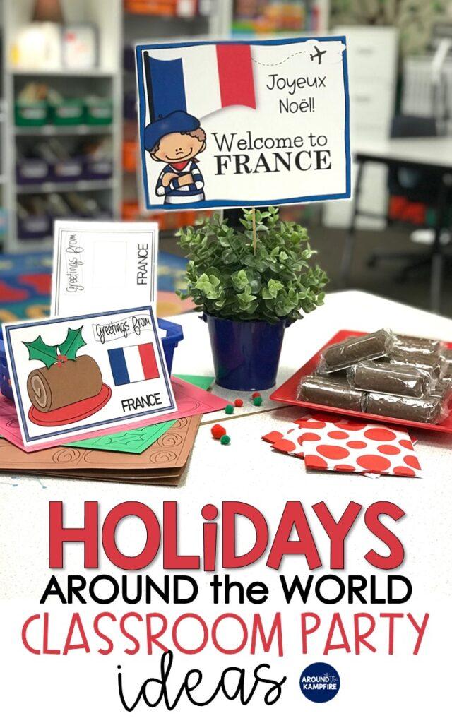holidays around the world class party ideas