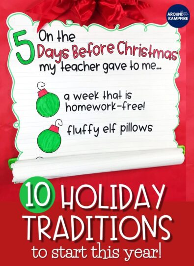 10 Holiday Classroom Traditions to Start This Year!
