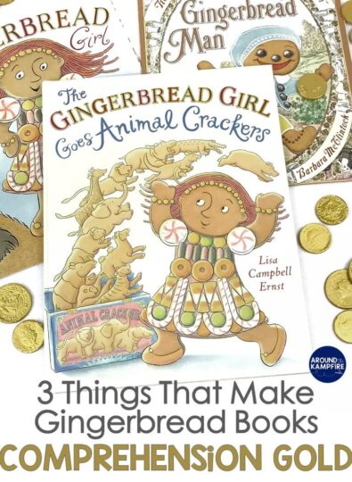 Gingerbread man books for building comprehension
