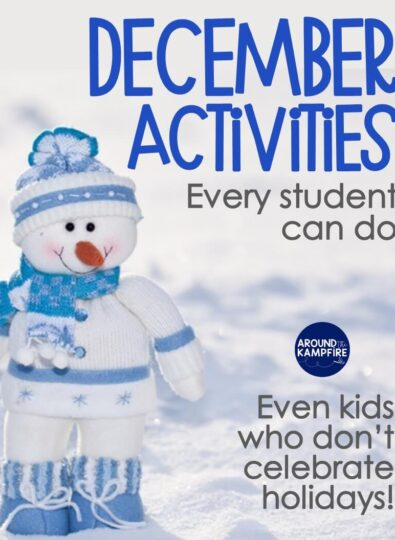 December Activities Even Students That Don't Celebrate Holidays Can Do