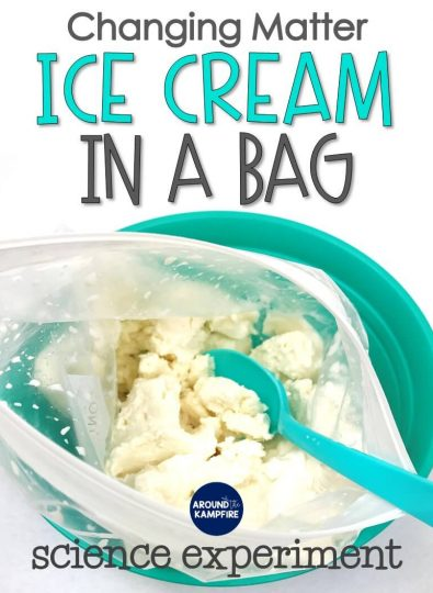 Ice Cream in a Bag: Changing Matter Experiment for Second Grade
