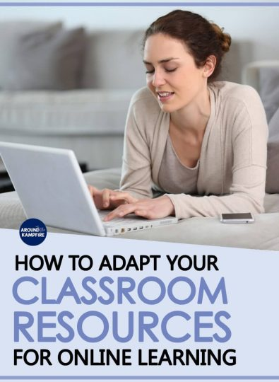 How To Adapt Classroom Resources for Online Learning