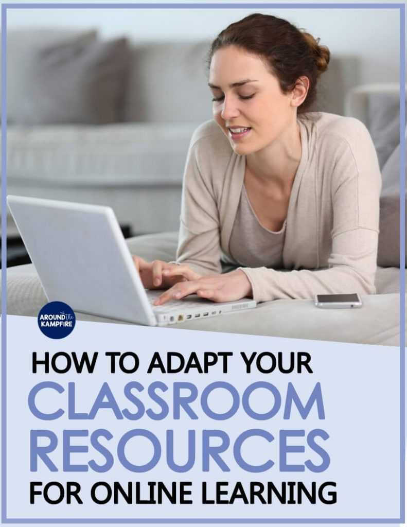 Learn how to adapt your regular teaching resources for online learning