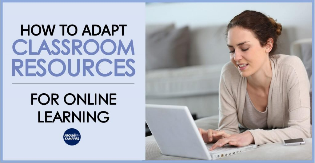 How to adapt regular teaching resources for online learning