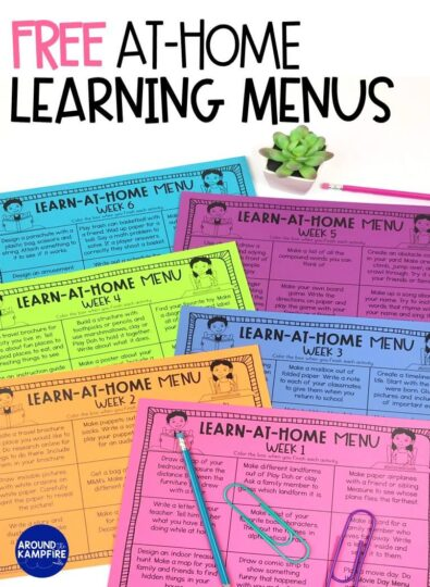 Free learn at home activities by grade level