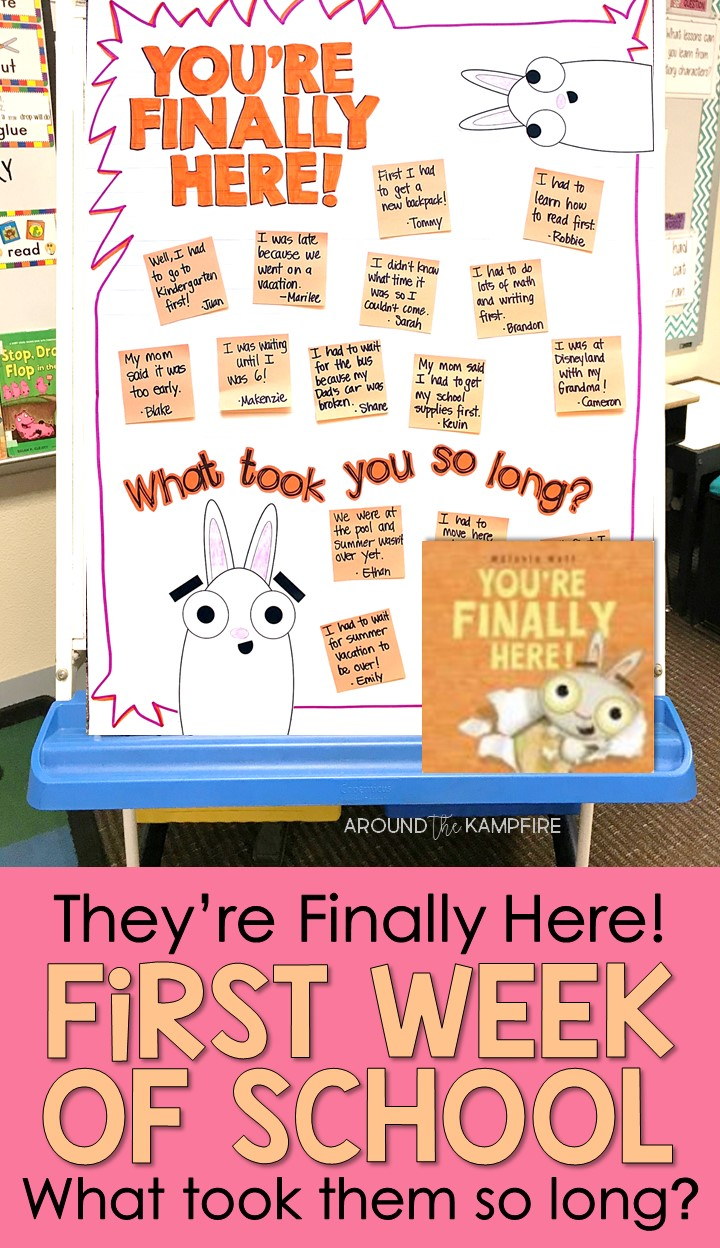 You're Finally Here! Back to School Activities