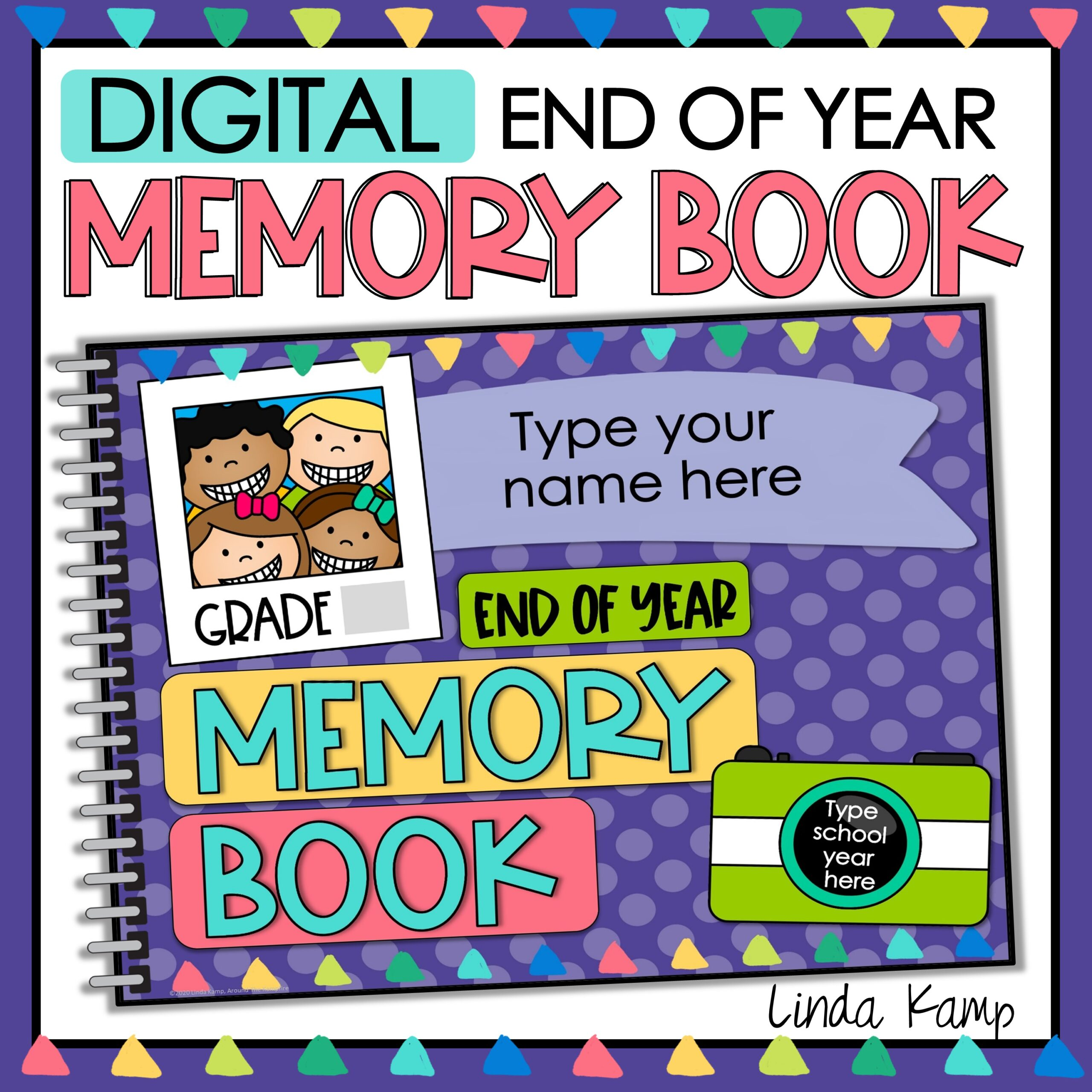 digital memory book cover