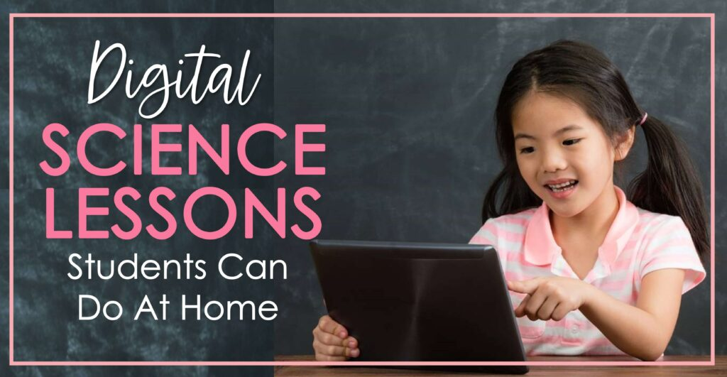 digital science lessons for 2nd grade virtual distance learning activitites