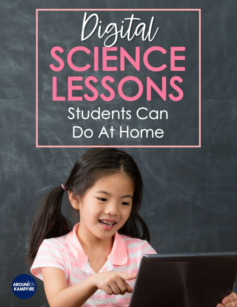 Digital Science Lessons for 2nd Grade blog post cover